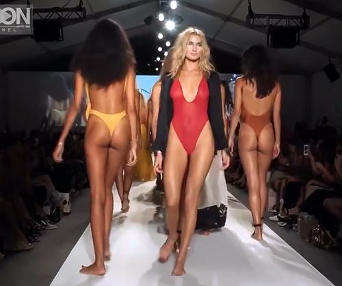 INDAH(インダー)2018春夏スイムウエアファッションショーinマイアミ