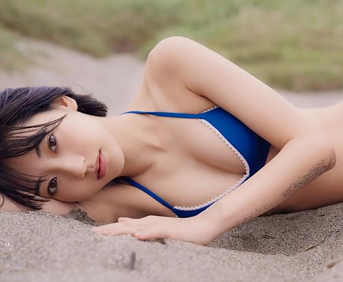 武田玲奈 少年誌でも脱ぐ!最新水着グラビアで精通を促す…【エロ画像27枚】