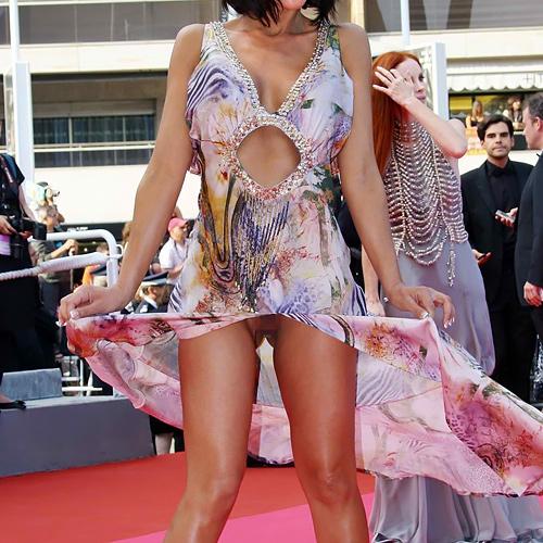 【※朗報※】カンヌ映画祭で定番になりつつある有名女優のマンチラwwwwwwwwwwww(画像あり)