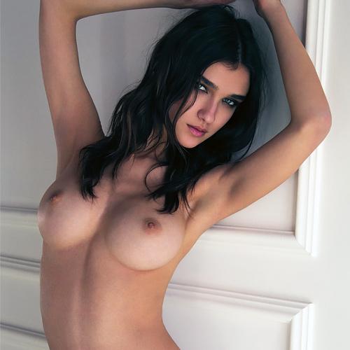 ポーランド出身のファッションモデルさん、プリっと美尻もえろい美美巨乳お乳もモロ出し☆ぬーどグラビアwwwwww