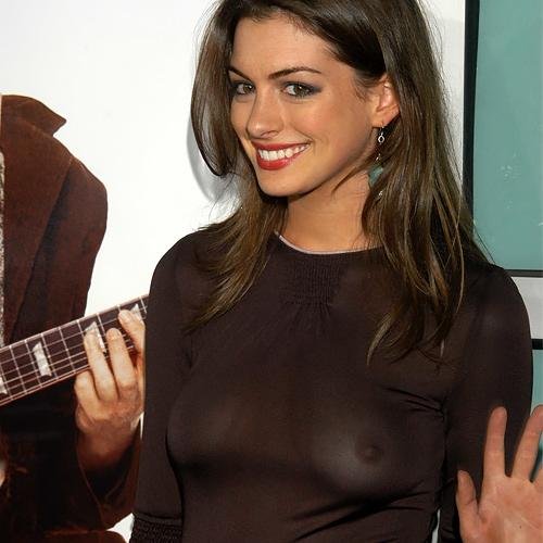【アン・ハサウェイ】現在35歳、出産も経験したハリウッド女優のピチピチだった頃の透け乳画像と動画www