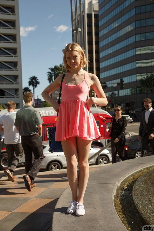 Chloe Cherry - AT THE GALLERIA 13