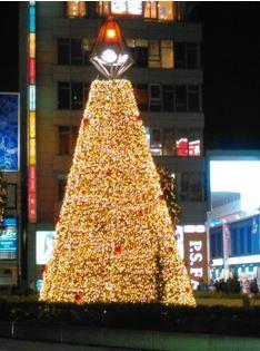 吉祥寺駅前クリスマスツリー