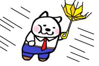 【ピクシーくん】 台風接近中