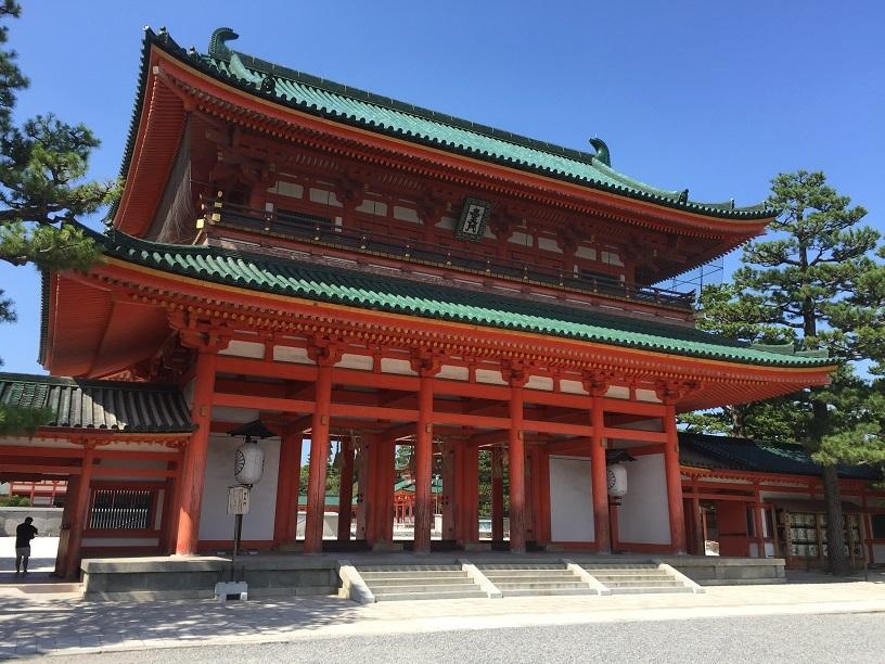 京都旅行平安神宮