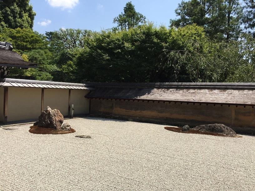 京都旅行龍安寺