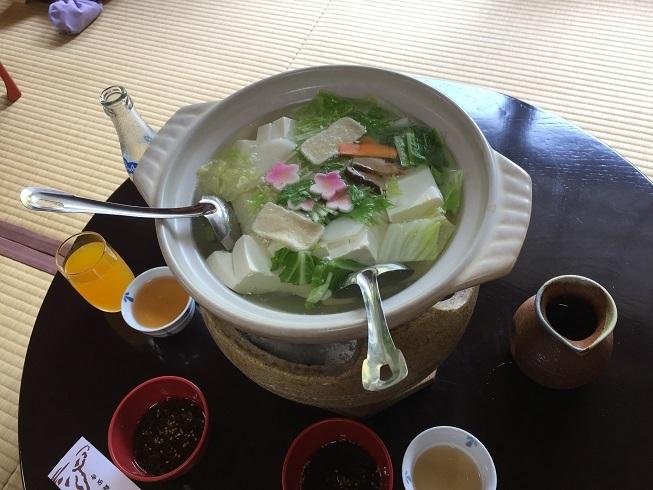 京都旅行湯豆腐