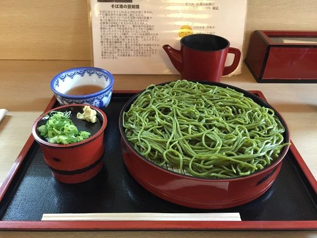 京都旅行茶そば