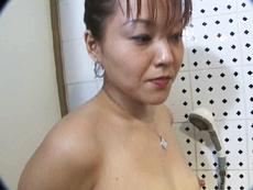 裏・桃太郎の弟子 :【無修正】柴田清美 ぽっちゃり熟女のマットプレイ