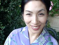 オバタリアン倶楽部 :【無修正】四十路の浴衣 川島千代子初裏作品