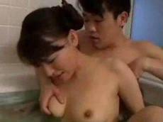 人妻会館 :【長瀬涼子】 母さん一緒に風呂に入ろうよ!変な事しないから!