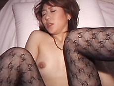 オバタリアン倶楽部 :【無修正】網タイツ熟女とセックス 田辺由香利