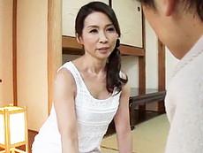 ダイスキ!人妻熟女動画 :「お義母さん、妻より気持ちいいですよ!」50代姑の蜜壺にたっぷり中出し! 松下美香