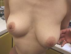 オバタリアン倶楽部 :【無修正】どっちが重い?三十路の天秤乳房