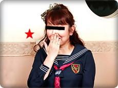 無料AVちゃんねる :【無修正素人・蒔田喜美子】【中出し】セーラー服姿で盛り上がる特大クリの熟女