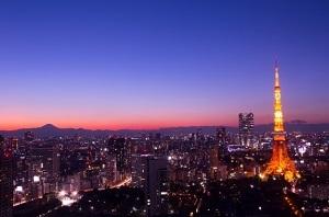 東京タワー 夕暮れ