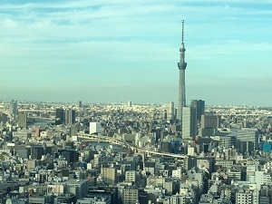 東京スカイツリー 昼