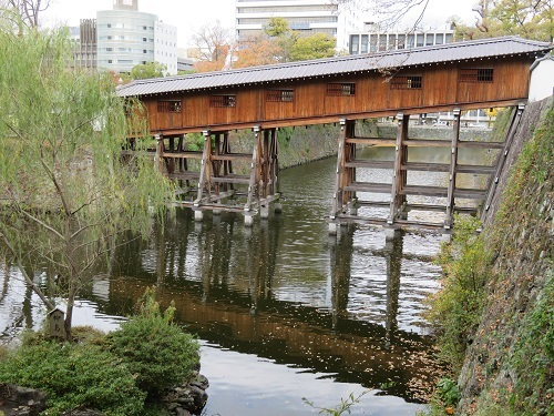 紅葉渓庭園 御橋廊下
