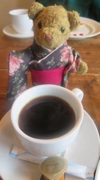 コーヒー (パスタィオ アカマツさん) & ベァー