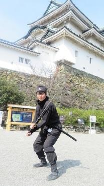 2017 3 22 お城 忍者さん