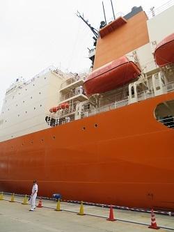 2017 9 24 南極観測船「しらせ」一般公開