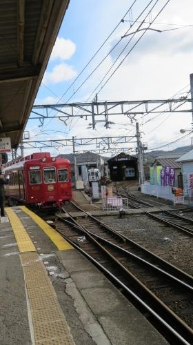 2017 1 17 貴志川線の旅  うめ星電車