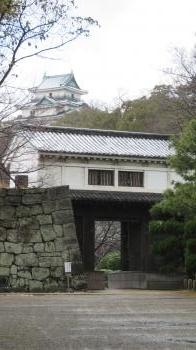 2017 1 24  お城 (岡口門)