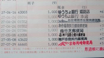 2017 1 5 郵便局巡り