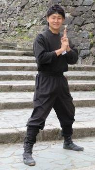 2017 3 1 お城 忍者さん