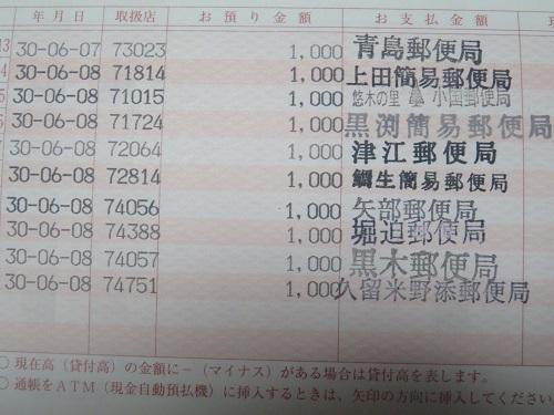 九州 郵便局巡り