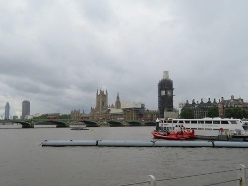 2019 6 13 ロンドン テムズ川リバークルーズ