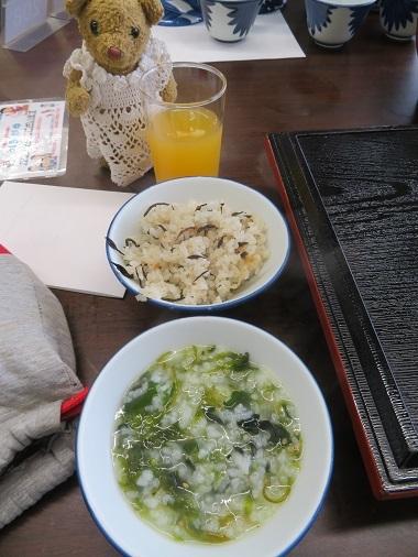 2017 4 25 砺波 朝ごはん