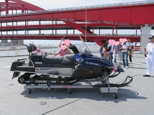南極観測船「しらせ」一般公開