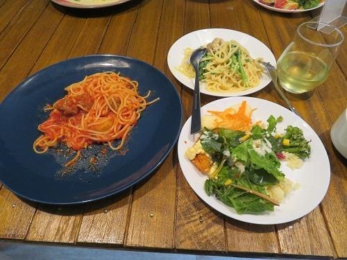 2019 1 12 LAF Pasta&pancake(ランチ)