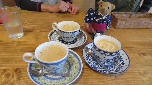 2017 10 20 Café mint カフェミントさん&ベァー