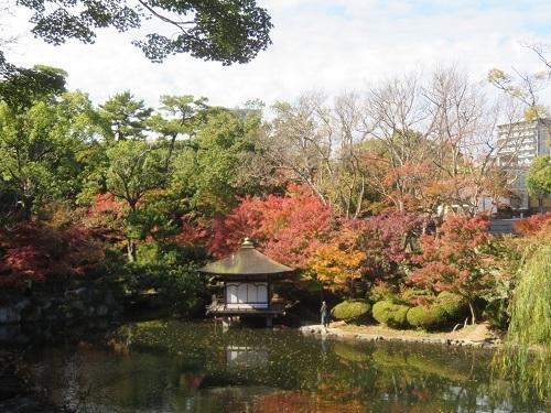 2017 11 28 お城 紅葉渓庭園