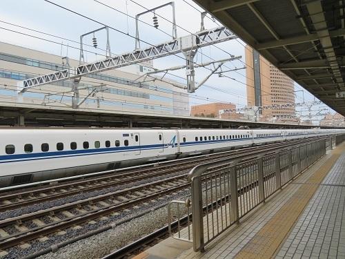 2019 2 8 浜松駅ー新大阪行きの車中