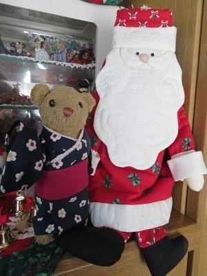 2017 12 9 クリスマス飾り&ベァー