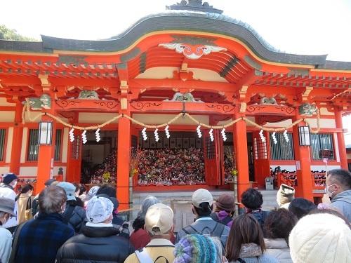 2021 3 3 淡島神社(ひな流し)