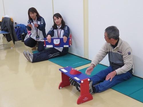 2018 3 8 SEイレブン 体力測定